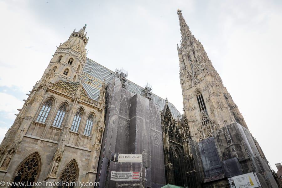 St. Stephen's Things to do in Vienna with kids