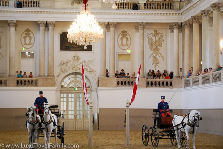 Spanish Riding School things to do in Vienna with kids