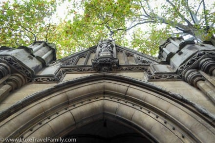 Church of St Mary Abbots facade Kensington