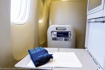 British Airways Club World 777 wash bag