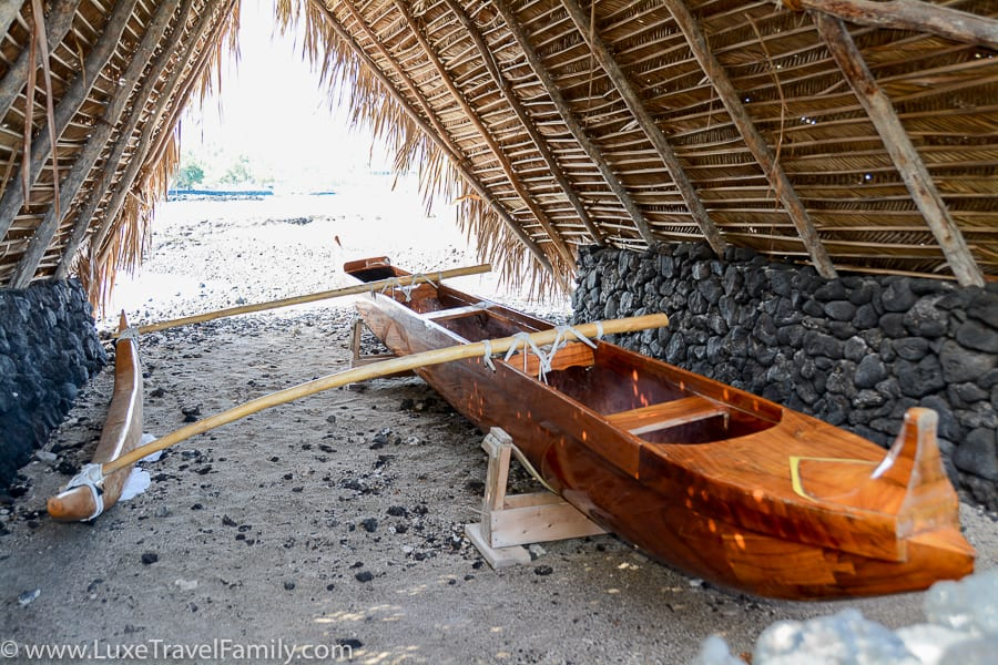 Spending Christmas in Hawaii outrigger canoe