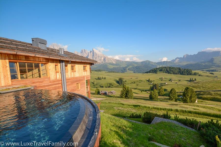 Adler Mountain Lodge best luxury hotel pool family fun