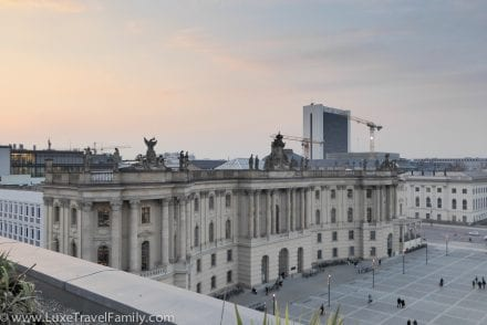 Skyline view Rocco Forte Hotel de Rome Berlin