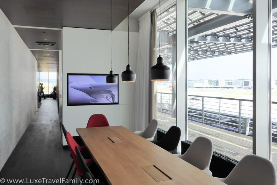 Boardroom Swiss First Lounge Zurich