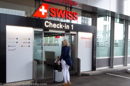 Travel with only carry-on luggage SWISS