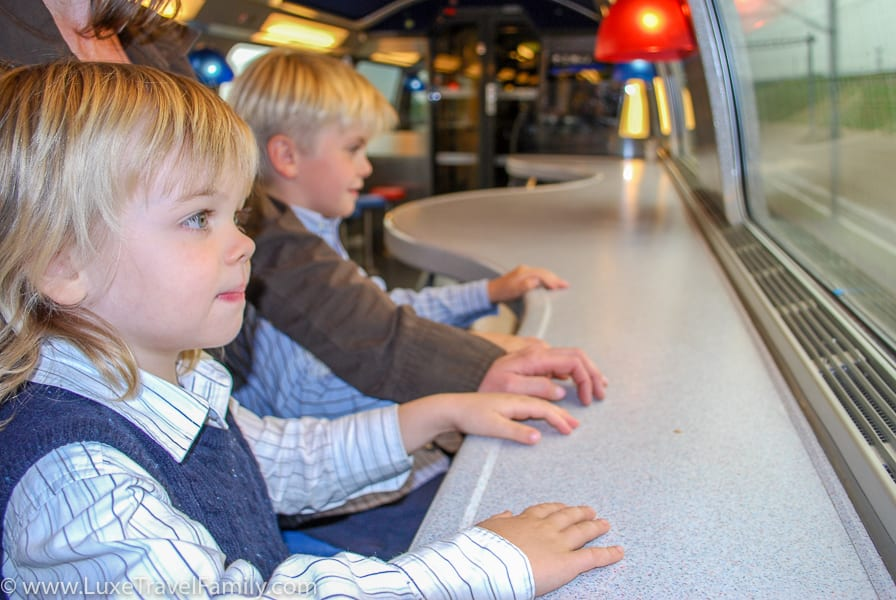 Train travel family friendly European cities