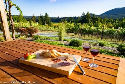 Blue Grouse Winery Grouse House Wine and Cheese