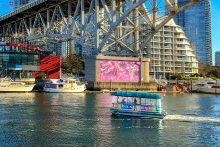 Vancouver's Granville Island Aquabus