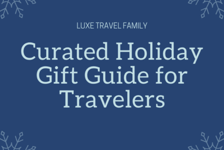 Curated holiday gift guide for travelers.
