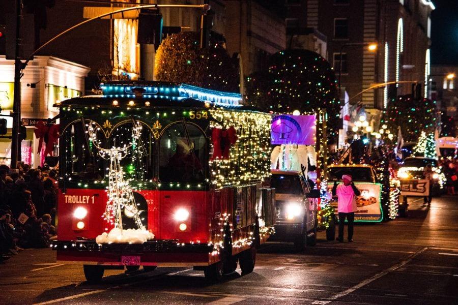 Santa's Parade things to do in Victoria B.C. at Christmas