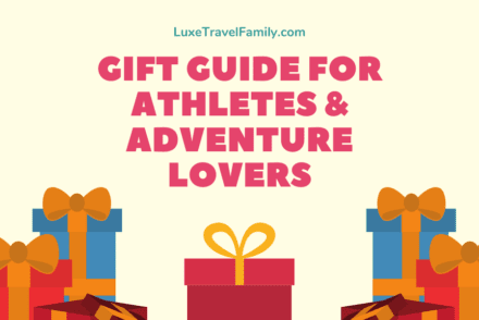 gift guide for athletes and adventure lovers