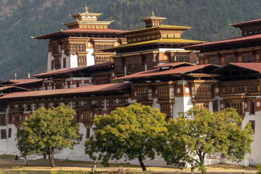 Punakha Dzong things to do in Bhutan with Kids