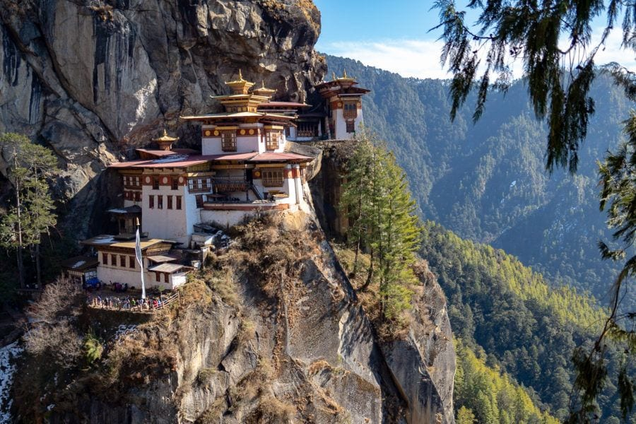 Tiger's Nest Monastery Things to do in Bhutan with kids